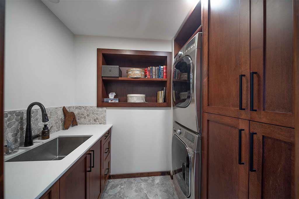 Lions bay Suite Laundry Room Renovation Image
