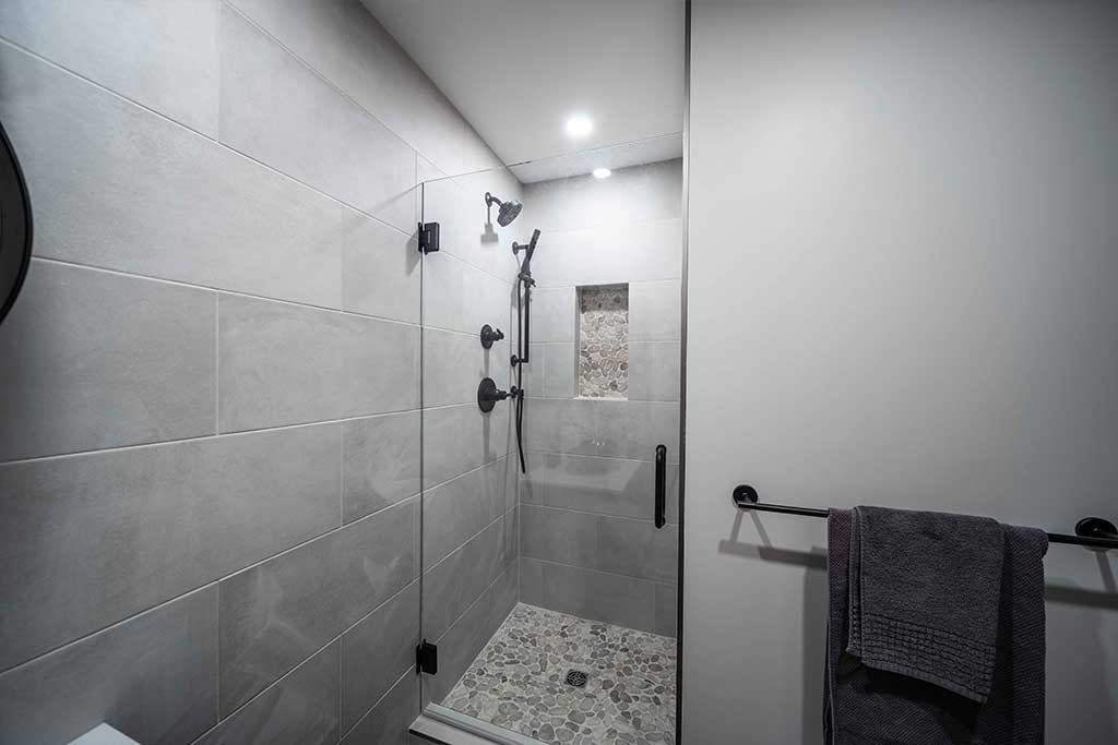 Lions Bay Suite Shower Renovation Image