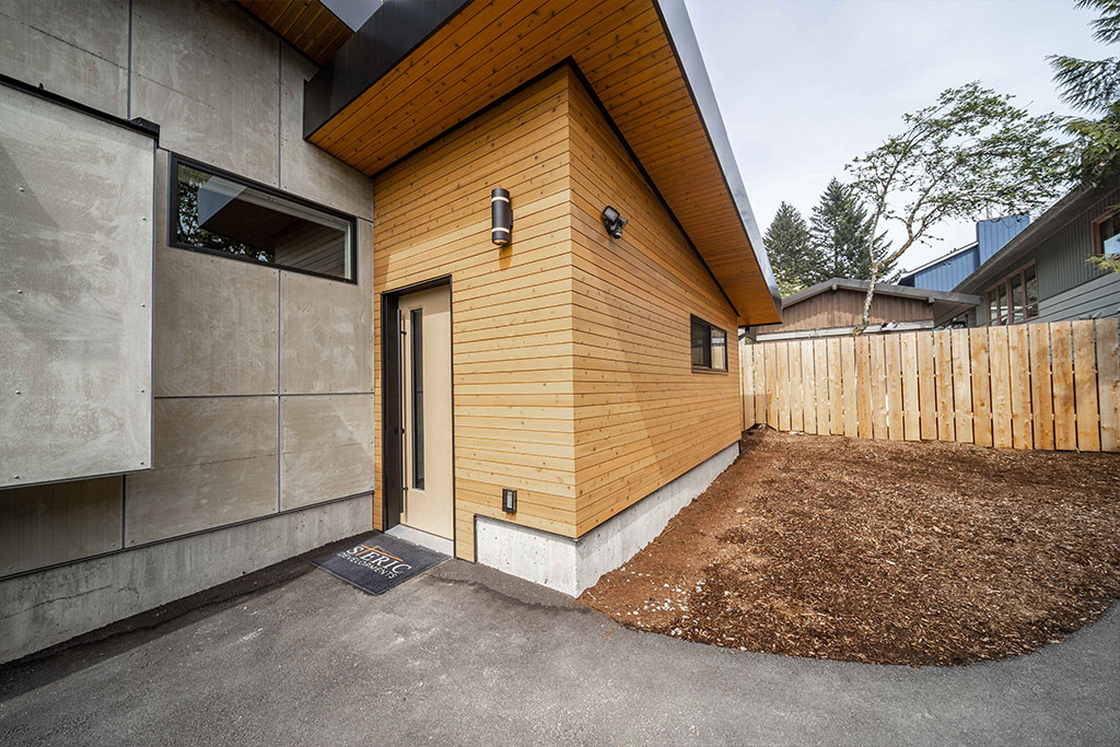 Squamish Carriage House Exterior Front Door Image