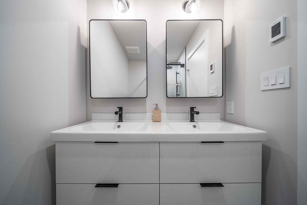 Squamish House Main Bathroom Vanity 2 Renovation Image